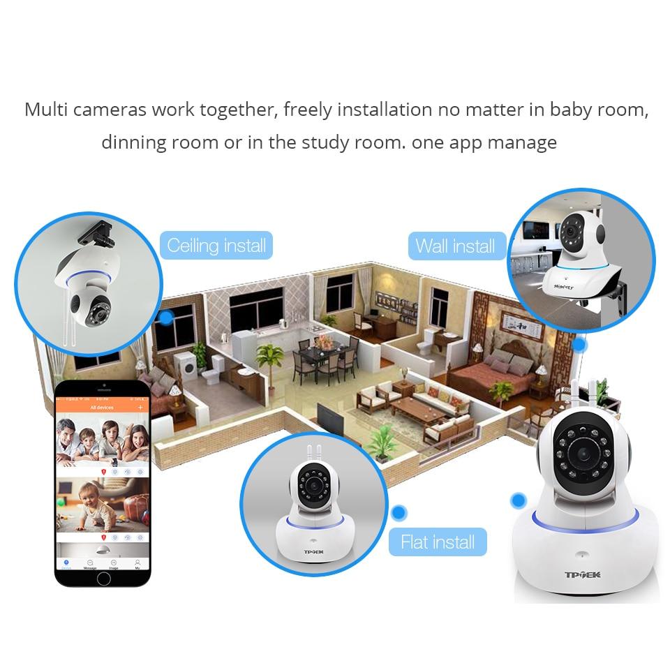 Wireless IP Camera Wifi Night Vision wi-fi Camera IP Network Camera CCTV WIFI P2P Security Home Surveillance Camara Baby Monitor