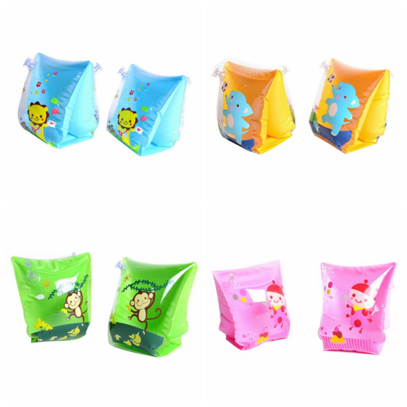 Children's Cartoon Arm Circle Float Baby Water Ring Thickened Double Airbag Balloon Swimming Baby Inflatable Toys