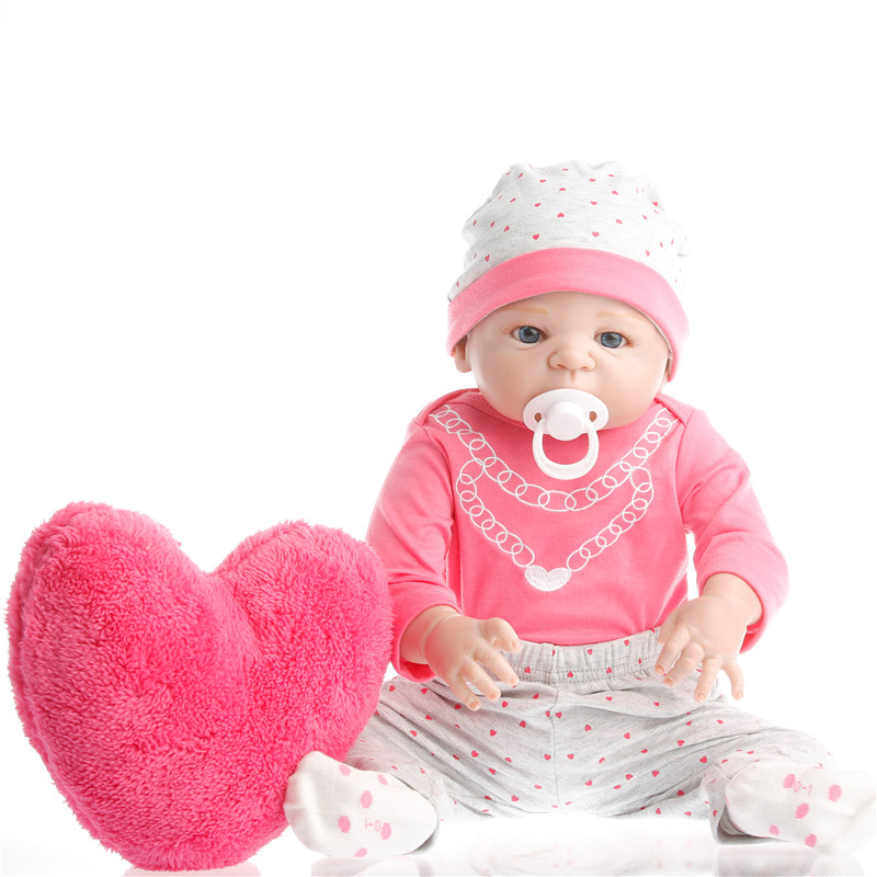 22inch 57cm Silicone baby reborn dolls, lifelike doll reborn babies toys for girl princess gift brinquedos  Childrens toys22inch 57cm Silicone baby reborn dolls, lifelike doll reborn babies toys for girl princess gift brinquedos  Childrens toys