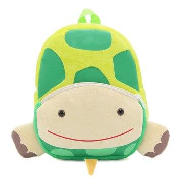 2020 Cartoon Kids Plush Backpacks Mini Kindergarten schoolbag Plush Animal Backpack Children School Bags Girls Boys Backpack - 16