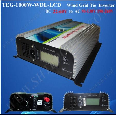 Reliable dc to ac 220v 230v 240v inverter grid tie 48v 1000w wind mill 1000w on grid tie wind inverter 1kw dump load controller for 3 phase wind turbine ac 22v 60v ac 220v 230v 240v