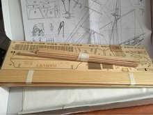Classics Antique Wooden Sail Boat Model