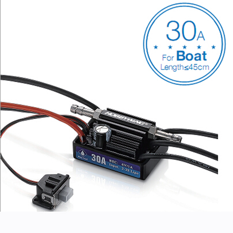 Hobbywing SeaKing V3 Waterproof 120A 180A 60A 30A 2 6S Lipo Speed Controller 6V 5A BEC