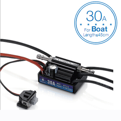 Hobbywing SeaKing V3 Waterproof 120A / 180A / 60A / 30A 2-6S Lipo Speed Controller 6V/5A BEC Brushless ESC for RC Racing Boat Pakistan