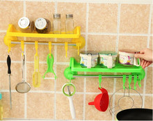Kitchen Suction Storage Racks Boxes Bathroom Wall Hooks Hangeruckers Strong sucker Storage Holder Plastic Storage Racks