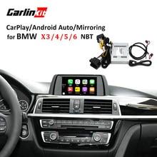 Carlinkit Invertendo Câmera Módulo de Interface para BMW Sistema Com Carplay X3 X4 X5 X6 Com NBT Espelhamento