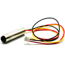 цена на Dot Focusable 650nm 5mW Red Laser Diode Module 12mm*30mm w TTL 0-15khz