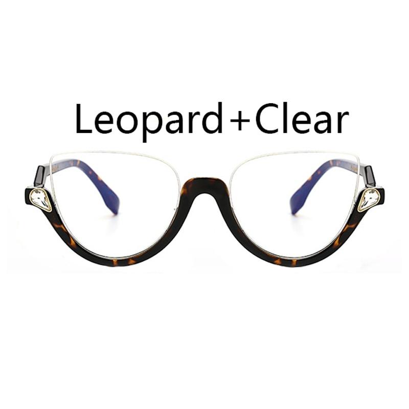 Fashion Transparent Cat Brillen Rahmen Vintage Optische Brillen ...