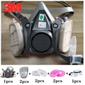 8 в 1  3 м  6200  Пылезащитная маска с пылезащитными фильтрами SJL 2091  респиратор против пыли для работы  окрашивание  спрей  частицы  РМ2  5  защитная...