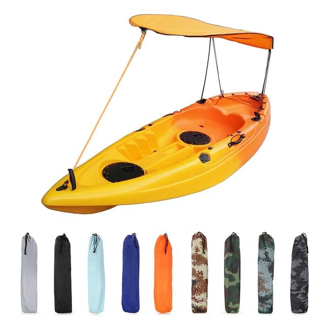 Kayak accessories boat canoe sun shade canopy sun shelter for Best fishing kayak accessories