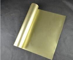 (0.5x5M) vinyle de transfert de chaleur d'unité centrale de 2.5 mètres carrés d'or pour l'habillement Vinil Textil t-shirt fer sur vinyle Texile presse à chaud vinyle