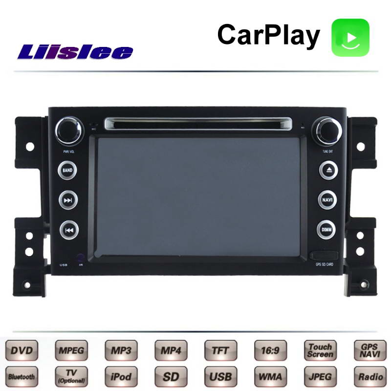 Pour Suzuki Vitara Grand Nomade SZ JP 2005 ~ 2015 voiture multimédia TV DVD GPS Radio Carplay Style Original Navigation Liislee Navi
