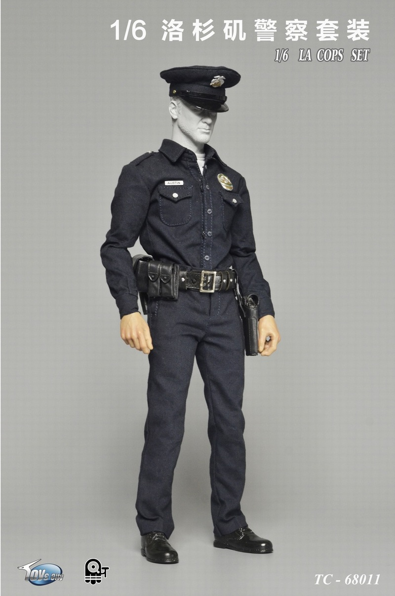 1/6th scale figure clothing accessory US police LA male cops clothes set for 12 Action figure doll,Not included body and head hot figures doll accessories pirp toys 1 6 batman police commissioner gordon inspector dresscode clothes set for 12 figure body