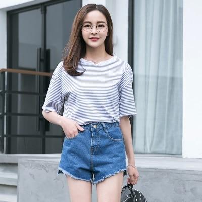 Aliexpress.com : Buy Women Denim Shorts Vintage High Waist Jeans ...