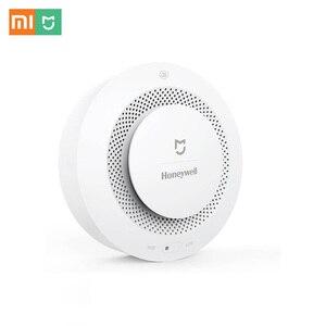 Image 3 - In Shock Original Xiaomi Mijia Honeywell Smart Fire Alarm Progressive Sound Photoelectric Smoke Sensor Remote Linkage Mihome APP