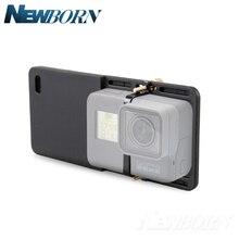 Ручной шарнирный адаптер, Монтажная пластина переключателя для камеры GoPro Hero 7 6 5 4 3 3 + Yi 4k DJI Osmo Feiyu Zhiyun Smooth Q Gimbal