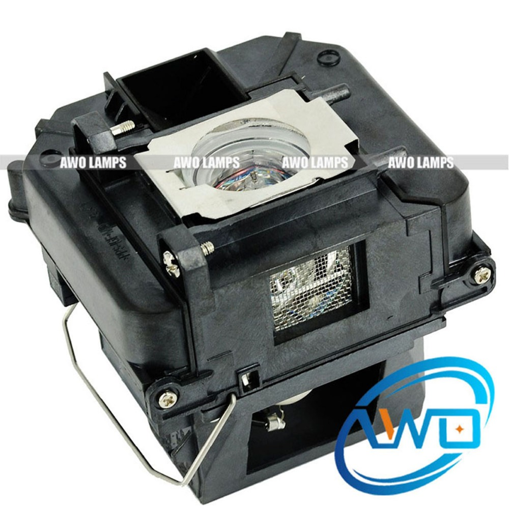 AWO Replacement Projector Lamp ELPLP68 / V13H010L68 For EPSON EH-TW5900/EH-TW6000/EH-TW6000W/EH-TW6100/PowerLite HC 3010