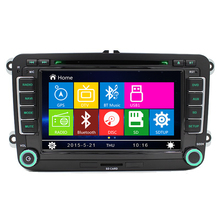 New Arrival Auto Car DVD GPS Navigation Player for VW Skoda Octavia Fabia Yeti Superb Can Bus Steering wheel control 8GB Map