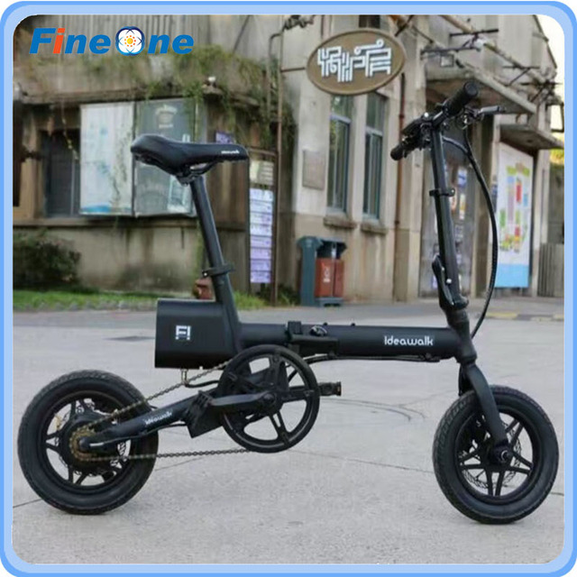 12 Inch Idealwalk F1 Folding Electric Bicycle Green