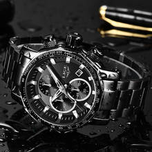 Luxury Full Steel Sport Chronograph Quartz LIGE9914