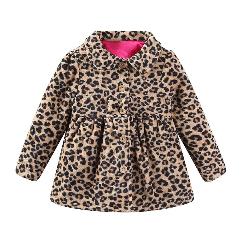 Belababy Baby Girls Jacket Winter Thick Warm Cotton Coat Fashion ...