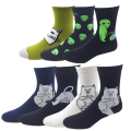 New Cotton Socks for Women Cat Alien Socks Hip hop Harajuku Funny Socks Skateboard Socks