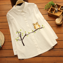 Maternity Clothing Spring Shirt Turn-Down Collar Pregnancy Clothes Fashion Loose Plus Size Full Pregnancy White Shirts