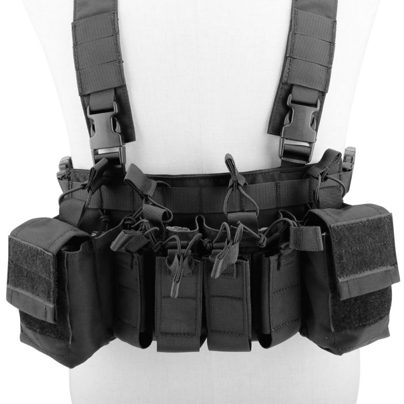 Easy Chest Rig Vest Adjustable Tactical Hunting Combat Recon Vest with Magazine Pouch Airsoft Hunting Paintball VestEasy Chest Rig Vest Adjustable Tactical Hunting Combat Recon Vest with Magazine Pouch Airsoft Hunting Paintball Vest