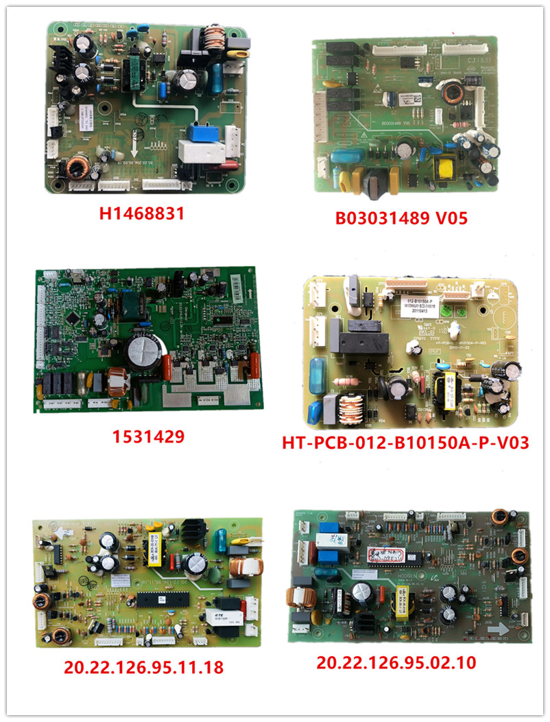 H1468831|B03031489 V05| 1531429|HT-PCB-012-B10150A-P-V03| 20.22.126.95.11.18| 20.22.126.95.02.10 Used Good Working