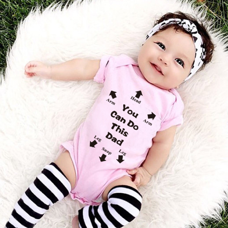 O-Neck Summer Baby Girl 2018 New Baby Boy Girl Infant Toddler Newborn Jumpsuit Bodysuit Outfits bobo choses