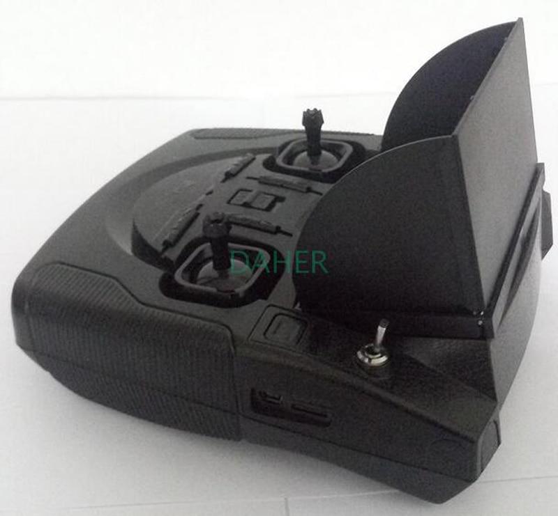 все цены на Hubsan H501S H107D H502S remote controller FPV2 sunshade cover shading board sun hood for Hubsan H501S H107D H502S FPV2 remote c онлайн