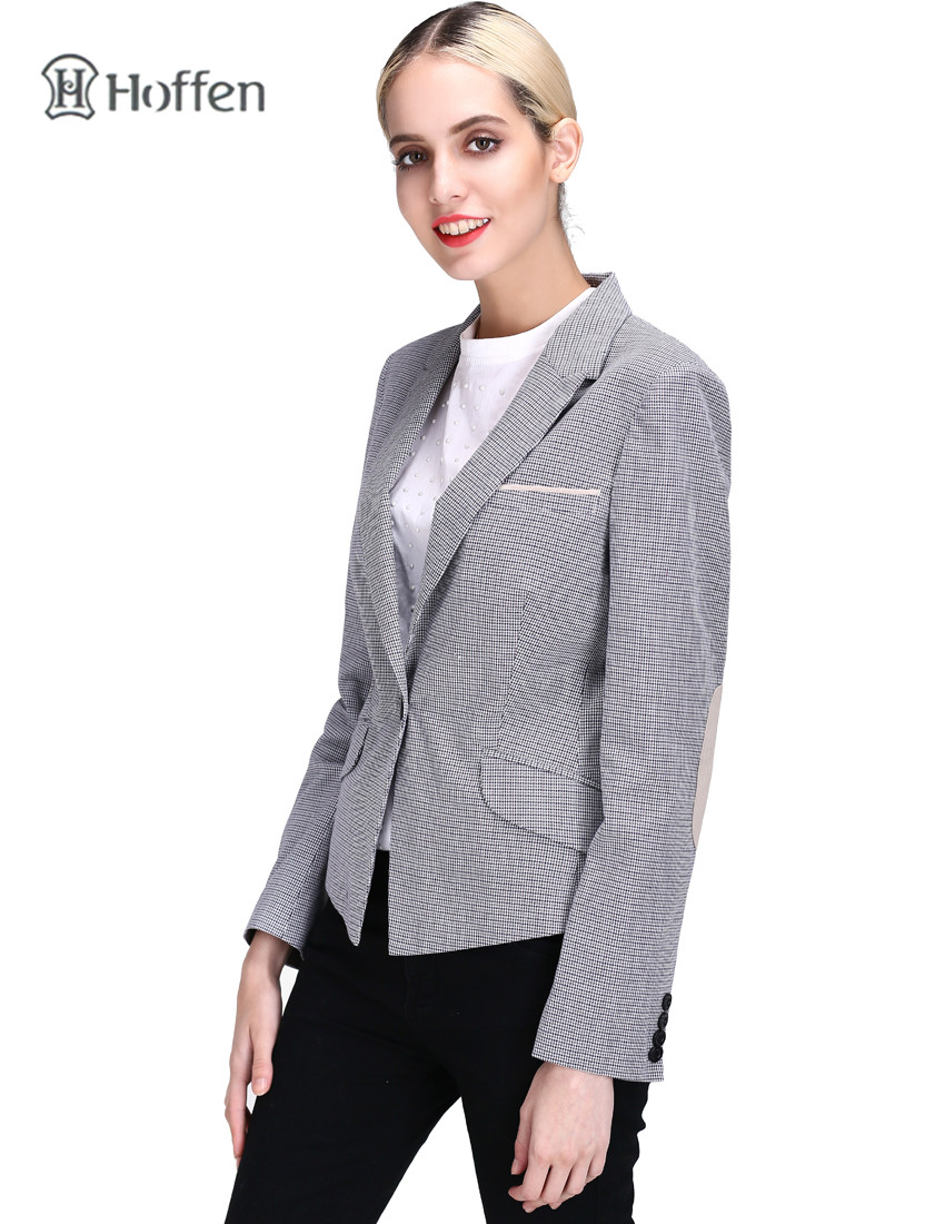 Hoffen Fashion OL ქალები Blazer ქურთუკი - ქალის ტანსაცმელი - ფოტო 2