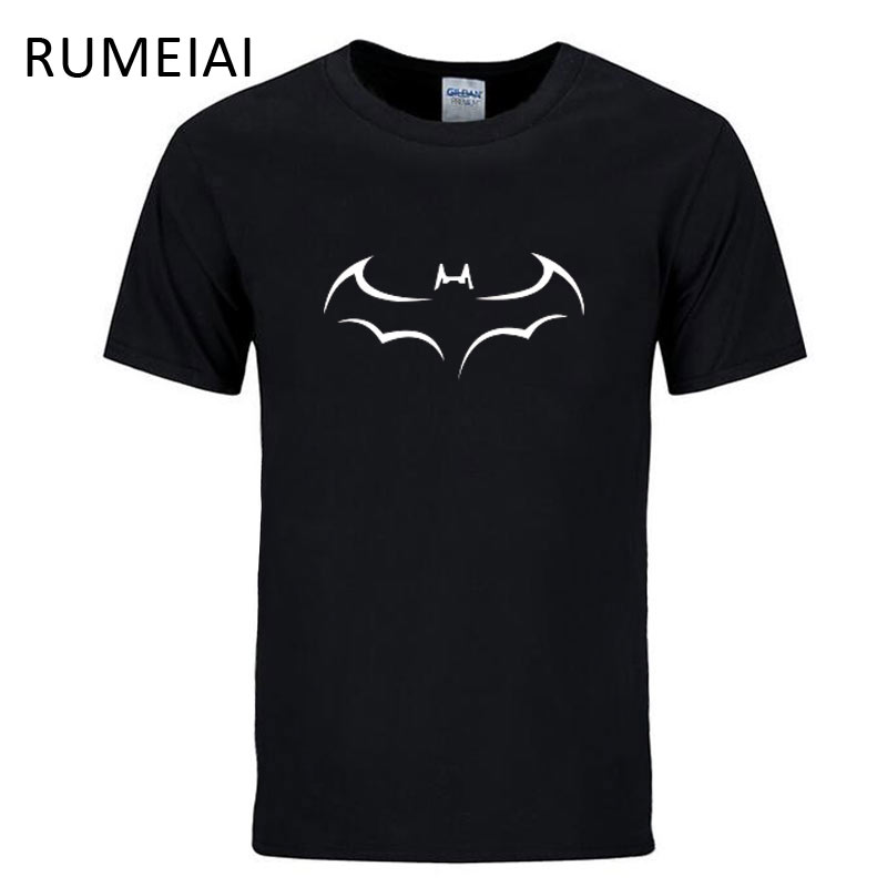 RUMEIAI 100% COTTON men t shirt casual short sleeve s