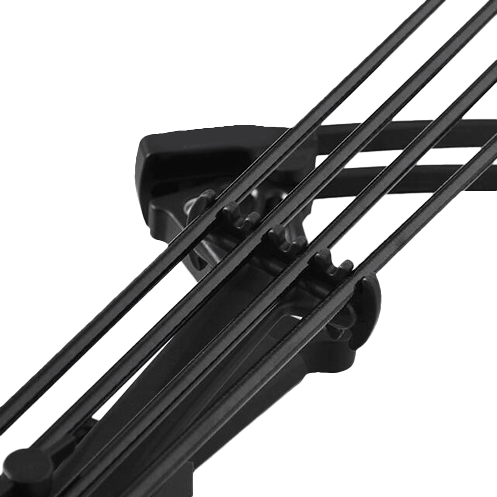 Detachable 4-Arrow Plastic Bow Quiver Premium Holder Case Archery  Compound Hunting Bow  Accessories Universal