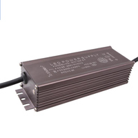Water proof driving power supply for street light 80W All aluminum external Outdoor constant current LED street lamp driver