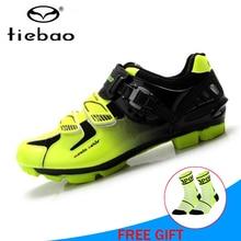 TIEBAO sapatilha ciclismo mtb cycling shoes Athletic Self-Locking bicycle riding mountain bike original superstar sneaker