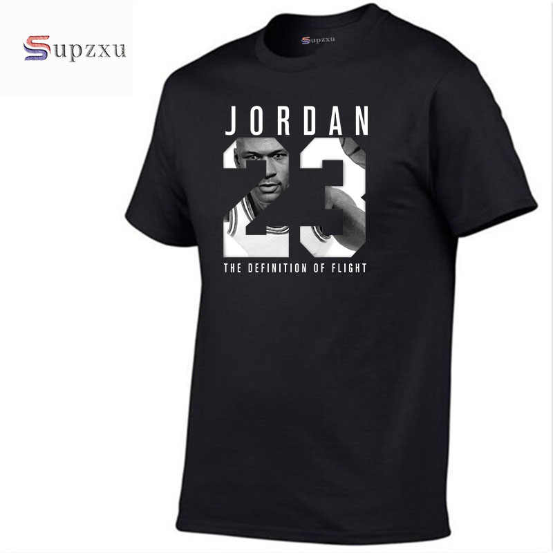 New brand 11 color round neck - Men's Jordan 23 T-shirt cotton fashion T-shirt fitness casual men's T-shirt free shipping