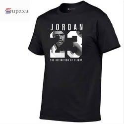 Новый бренд 11 цветов Круглый вырез-Мужская Jordan 23 футболка хлопок модная футболка Фитнес Повседневная мужская футболка бесплатная доставка