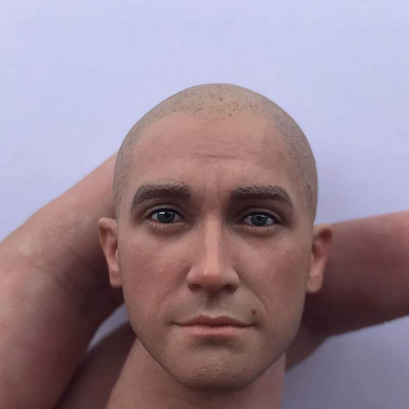 1/6 Scale Hitman 47 Head Sculpt The Killer Man Head Carving for 12inch Action Figure Toy image