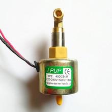 High power smoke machine Oil pump Model 40DCB-31 Voltage 220-240V-50Hz Power 18W