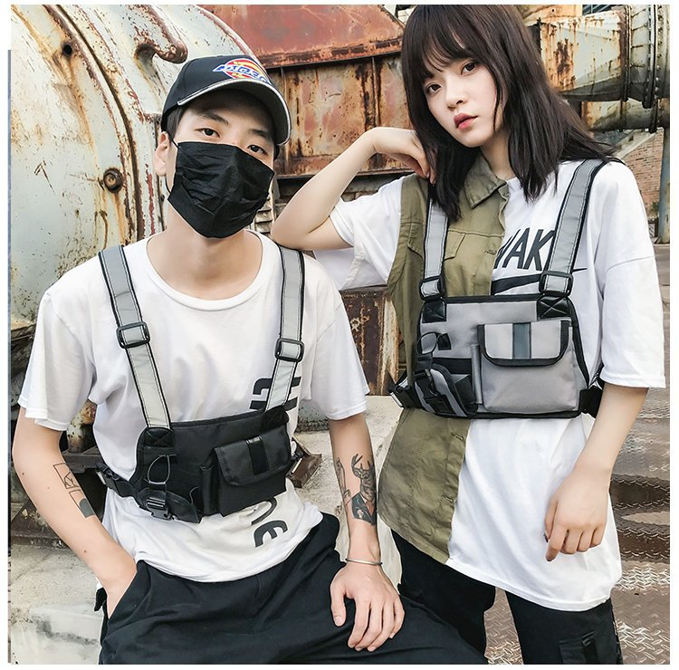 Shoulder Strap Vest Nylon Chest Rig