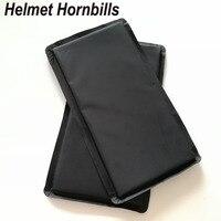 Helmet Hornbills 2pcs Lot 6 X 12 Aramid NIJ Level IIIA Bulletproof Panel NIJ 3A Stand