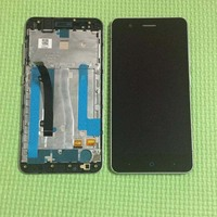 High Quality 5 0 Black Full LCD DIsplay Touch Screen Digitizer Assembly Replacement For ZTE Blade