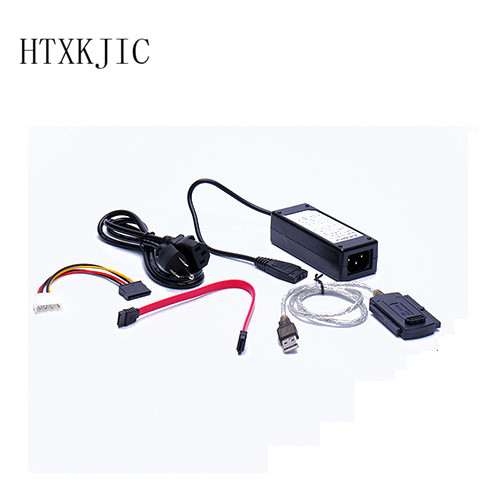 Newest SATA/PATA/IDE Drive to USB 2.0 Adapter Converter Cable for 2.5 / 3.5 Inch Hard Drive Hot Worldwide Wholesale usb 3 0 2 0 to sata ide cable 2 5 3 5 hard drive adapter converter cable otb high speed transfer with cd driver power supply