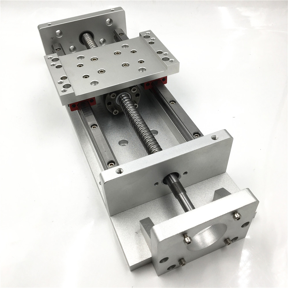 Linear Stage Actuator L700mm Stroke CNC Sliding Table SFU1605 Ballscrew Cross Slide Square Rail Working Table