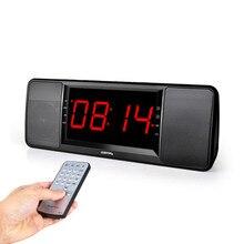 5 Вт цифровое радио fm приемник Bluetooth Динамик W Ith Пульт дистанционного Управления Будильник FM стерео ресивер MP3 плеер Портативный радио