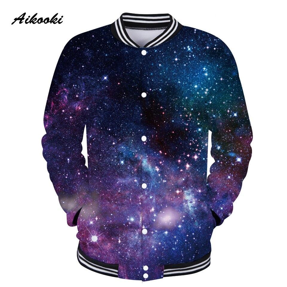 d562d0204ab9 Aikooki Space Galaxy 3D Jacket Women   Men Jacket Sweatshirt 3D Sky Star  Female Girls Jackets