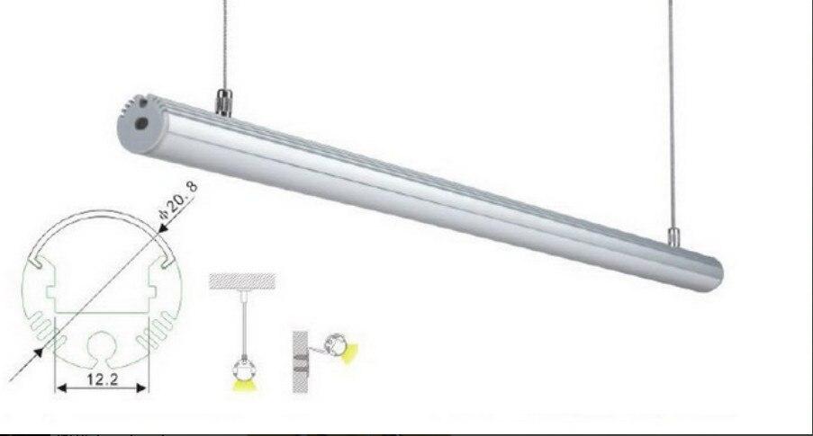 2M / PCS 100M / LOT Ingyenes szállítás felfüggesztett LED - LED Világítás - Fénykép 2