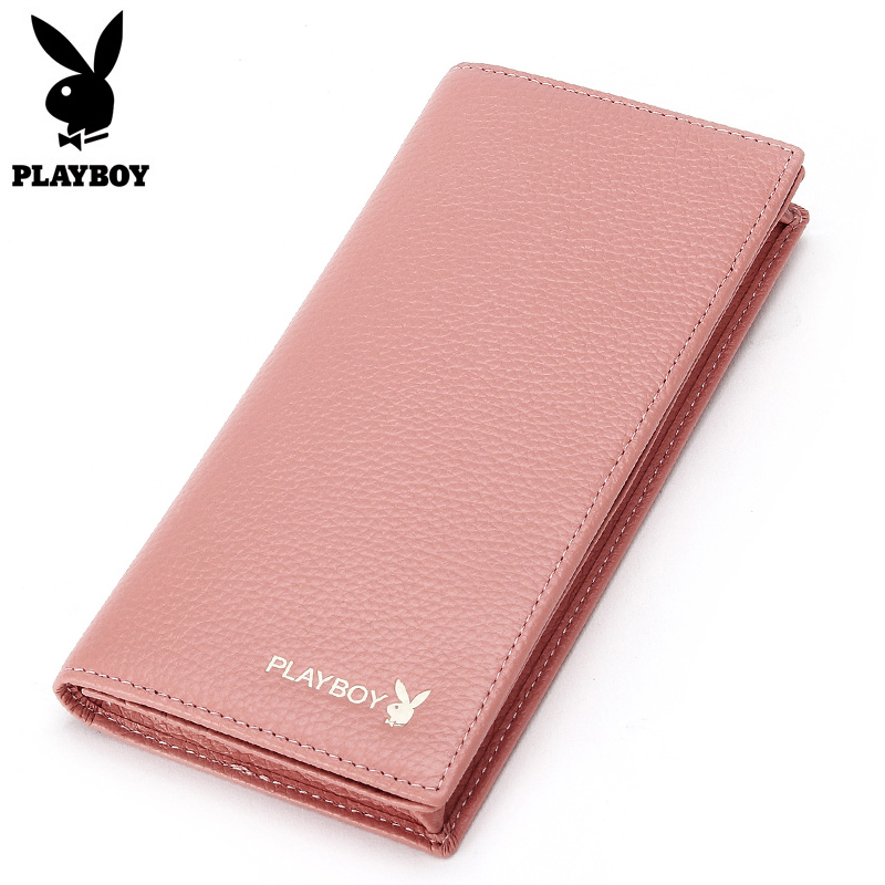 Cowhide Long Wallets Women Solid Wallet with Coin Pocket Brand Design Female Change Purse Genuine Leather Credit Card Holder Bag simple organizer wallet women long design thin purse female coin keeper card holder phone pocket money bag bolsas portefeuille