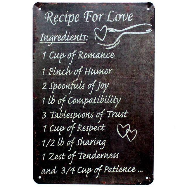 recept voor de liefde